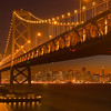A Rare Perpsective Of San Francisco From Oaky Bay Bridge - San Fransico, California