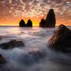 Sunset Fire - Rodeo Beach, Marin Headlands, San Francisco