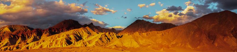 Death Valley Mountain Peak Sunset_Pan - Death Valley National Park, Eastern Sierras, California