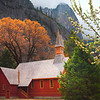 Yosemite Church In Autumn - Yosemite National Park, California