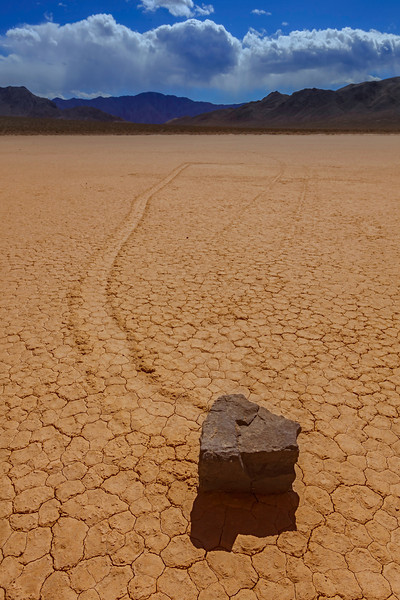 The Mysteries Of Earth - The Racetrack, Death Valley National Park, California