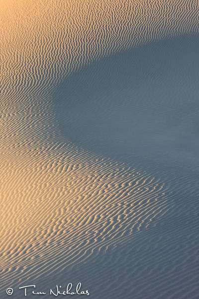 Death Valley Dunes - Curves