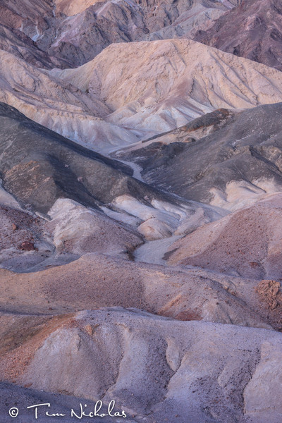 Death Valley Colour in the Badlands