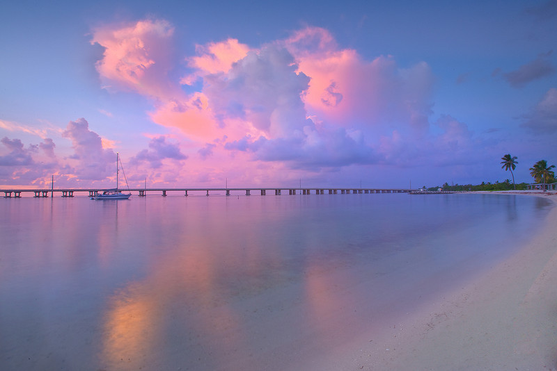 Seclusion At Its Best - Bahia Honda State Park, Florida Keys, Florida
