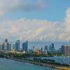 Downtown Miami Near Sunset -  Miami Pier, Florida