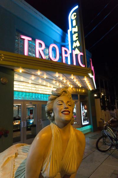 Old Tropic Cinema In Key West - Key West, Florida Keys, Florida