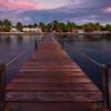Subdued Cool Light Over The Resort - Marathon, Florida Keys, Florida
