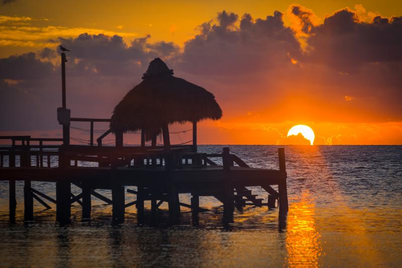 Sunrise Silhouette In Florida Keys - Marathon, Florida Keys, Florida