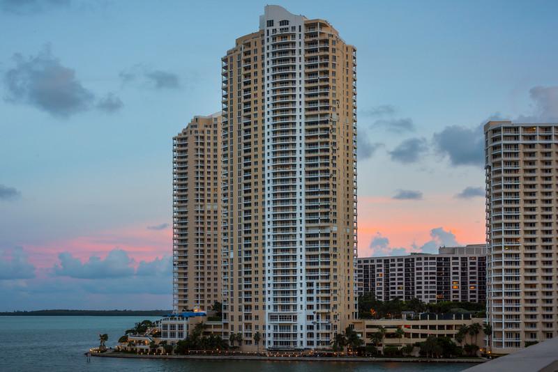 Harbourside Towers At Miami Sunset - Downtown Miami, Florida