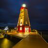 A Moody Night Under The Faro Blanco Lighthouse - Marathon, Florida Keys, Florida