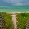 Sandspur Beach Pano Of Bahia Honda - Bahia Honda State Park, Florida Keys, Florida