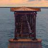 The Old Historic 7 Mile Bridge At Sunset - Bahia Honda State Park, Florida Keys, Florida