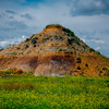 The Bee Hive In Color - Makoshika State Park, Glendive, Eastern Montana