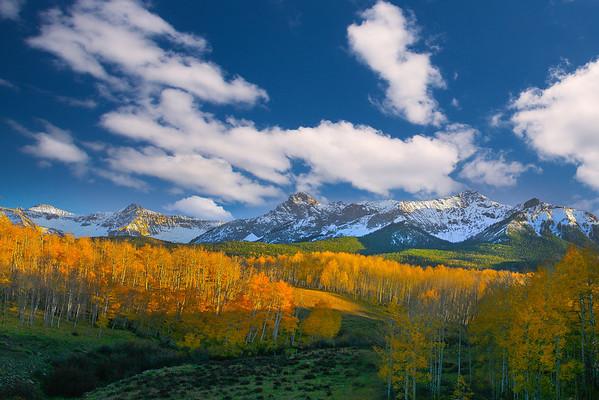 Classic Colorado Fall Vista- Colorado