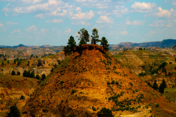 Intersecting Mounds Of Color And Light - Hell Creek State Park, Jordan, Montana