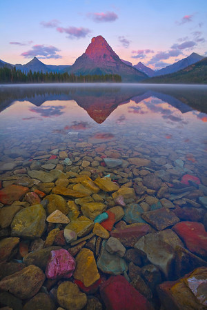 I Can See Forever - Two Medicine Lake, Glacier National Park, Montana