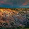 Pano Of Starship Canyon Casper, Wyoming