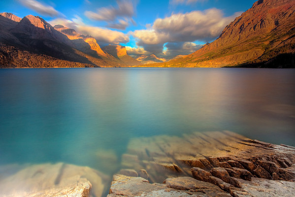 The Magic Colors Of Saint Mary's Lake - Glacier National Park, Montana
