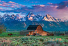 Making There Way Across The Tetons - Grand Teton National Park, Wyoming St.