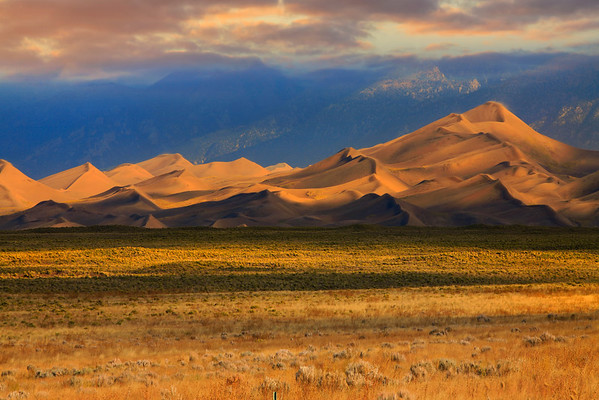 The Blowing Winds Of The Colorado Sand Dunes - Colorado Sand Dunes Monument, Colorado