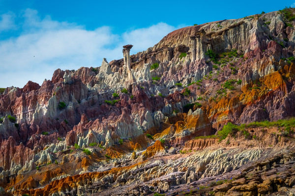 Rows Of Different Textures And Colors - Casper, Wyoming
