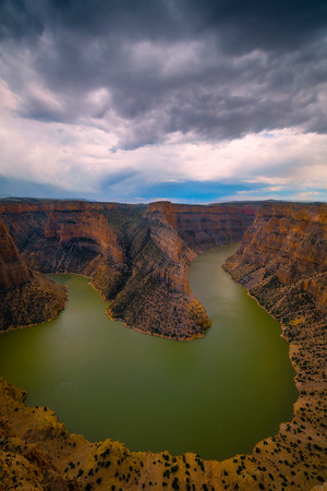Looking Into The Heart Of Bighorn Canyon - Bighorn Canyon National Recreation Area, Wyoming
