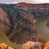 A Sharp Turn In The Canyon - Bighorn Canyon National Recreation Area, Wyoming