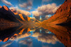 Mirror Visions - Saint Mary's Lake, Glacier National Park, Montana