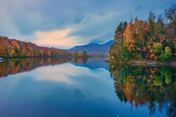 A Calmness And Stillness To The Morning On The Lake - Vermont