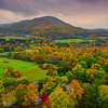 Overlooking The Valley Area Of Bennington - Vermont