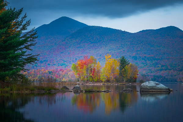 An Island Of Color - Vermont