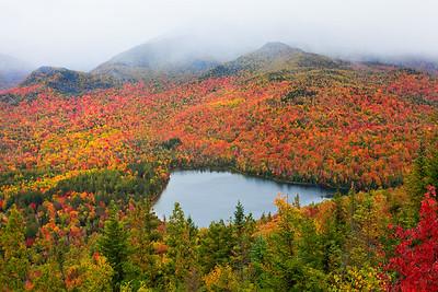 Heart Lake And Mount Joe From Adirondacks - Adirondacks, New York