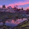 Pemaquid Point Lighthouse Sunset - Maine