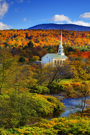 Autumn In Stowe - Stowe, Vermont