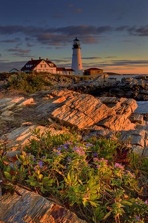 Glory Of Light - Portland Head Lighthouse, Maine