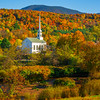 Stowe Church Stuck In The Middle Of Color