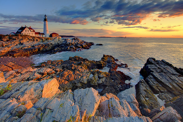 Portland Head Lighthouse Sunrise - Portland Head, Maine