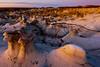 Alien Lifeforms In Bisti Badlands -  Bisti/De-Na-Zin Wilderness, New Mexico