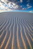 Lines Of Electricity - White Sands National Monument, New Mexico