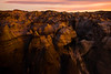 Late Light Entering The Dark Canyons -  Bisti/De-Na-Zin Wilderness, New Mexico