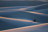 Rolling Shadows And Rim Light - White Sands National Monument, New Mexico