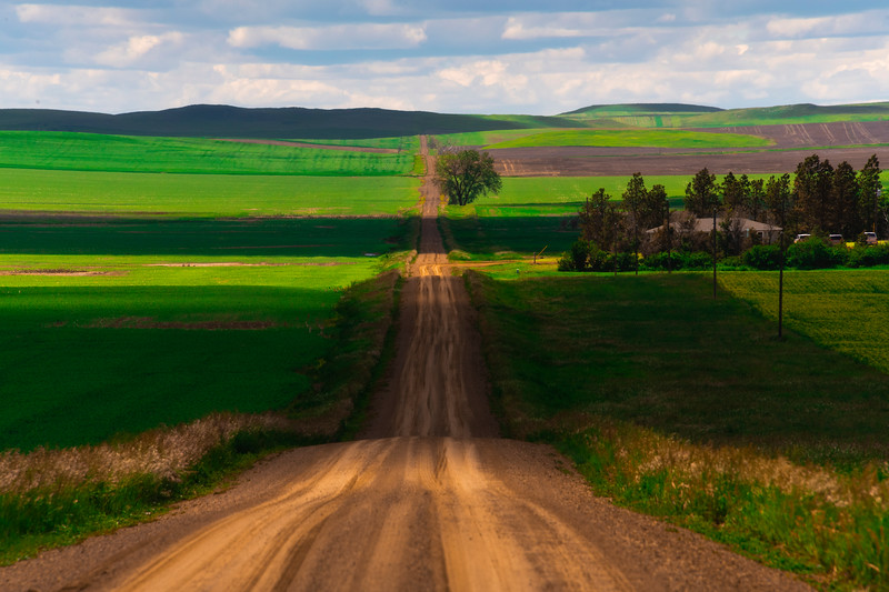 Roling Backroads Of North Dakota