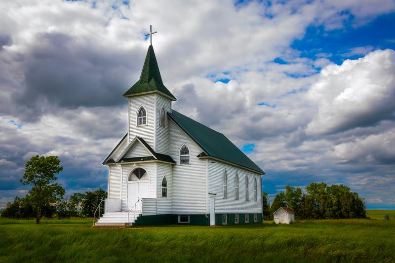 Side Profile Of The Neuburg Church