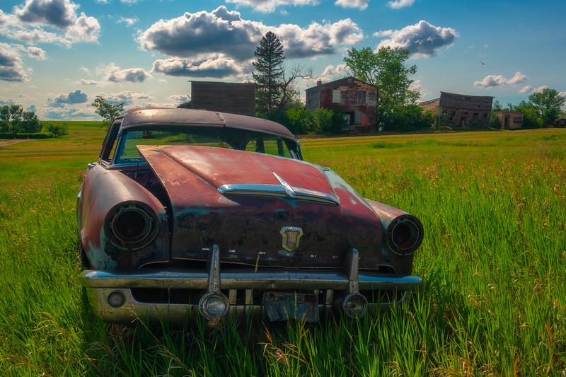 A Taste Of A Forgotten Town - Alkabo Ghost Town, Little Missouri, North Dakota