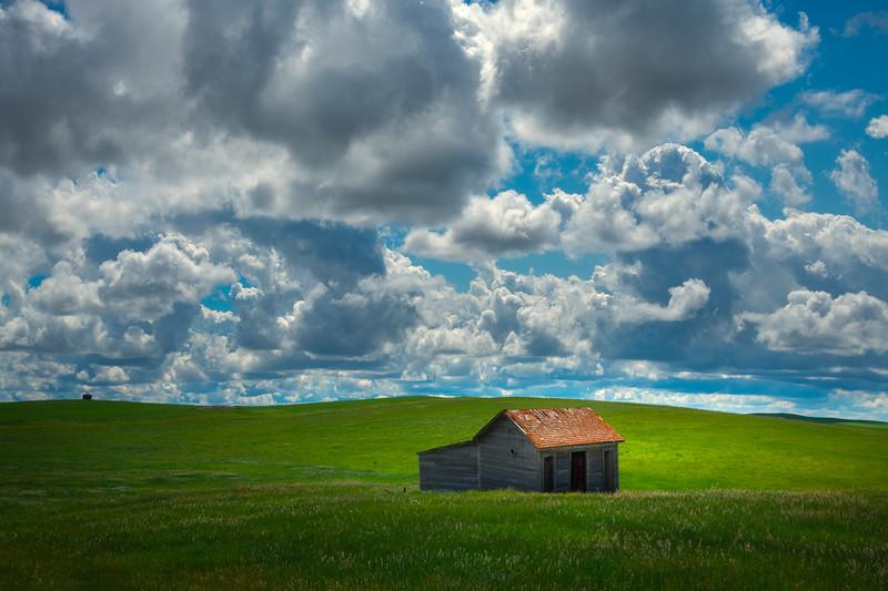 Casting Light On The Homestead - Alexander, Little Missouri Grasslands, North Dakota