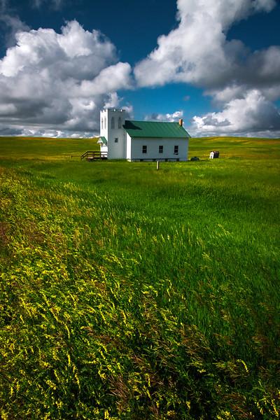 Fields Of Gold And Green - , Trotters, Little Missouri Grasslands, North Dakota