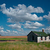 A Home Beside The Railroad - Alkabo Ghost Town, Little Missouri, North Dakota