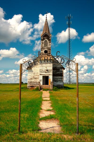 The Old Schoolhouse -  Bethesda, Little Missouri, North Dakota