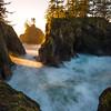 Boardman Cave Light - Samuel Boardman State Park, Southern Oregon Coast