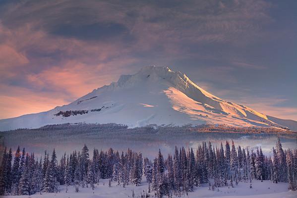 Mt Hood Winter Majesty - Mt Hood Meadows, Oregon